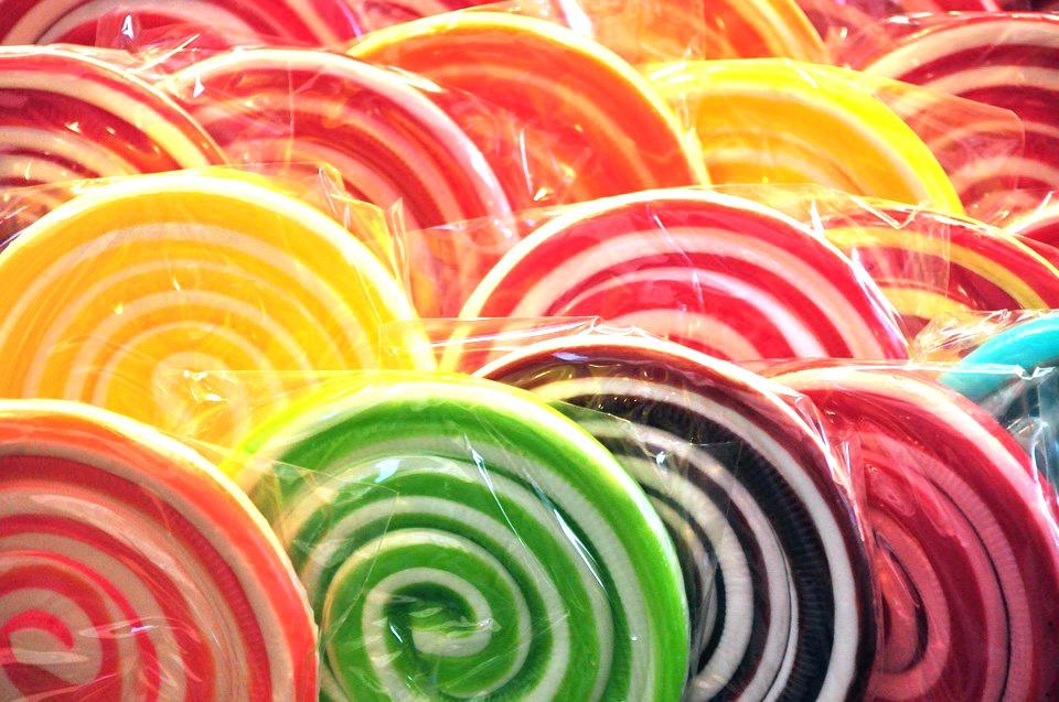 lollipops sucette