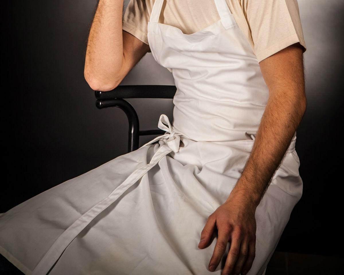 tablier chef cuisine